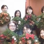 クリスマスリースレッスン1