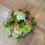 リースの雰囲気は花の大きさで決まる!!