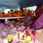 大量注文の花束