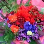 情熱的な花束