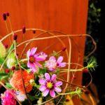 花の向きで決まるナチュラルデザイン