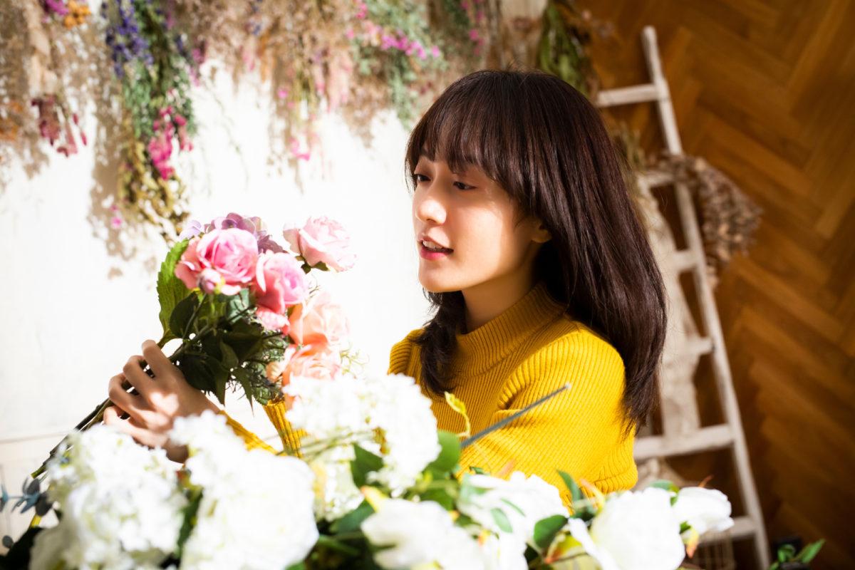 お花やさんになりたい