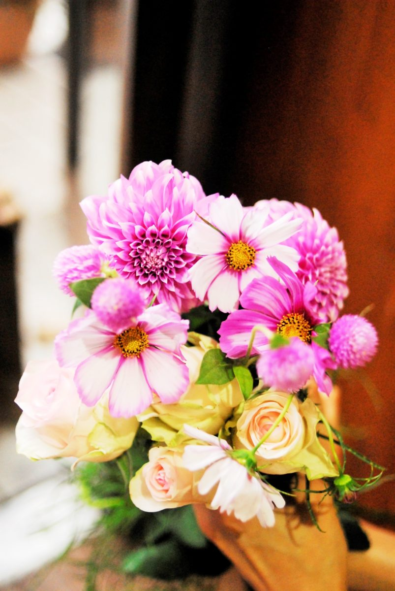 お花の空間の取り方