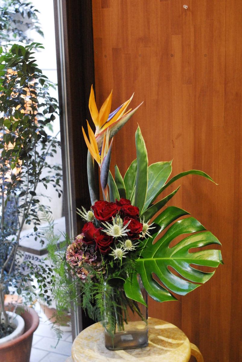 ストレリチア花束
