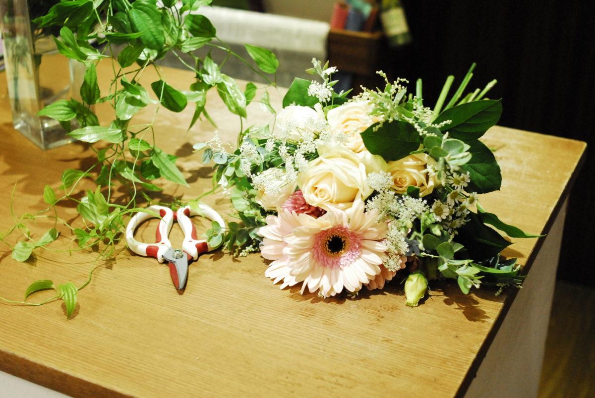 お花の仕事