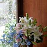 最近のお悔やみのお花