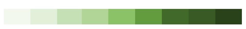グリーンの色