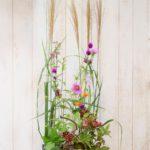植生的パラレルで季節感あふれる作品を作ろう